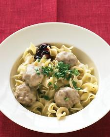 Swedish Meatballs - Martha Stewart Recipes