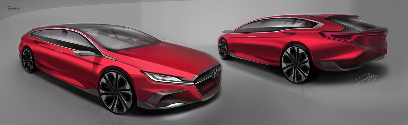 Hyundai wagon concept on