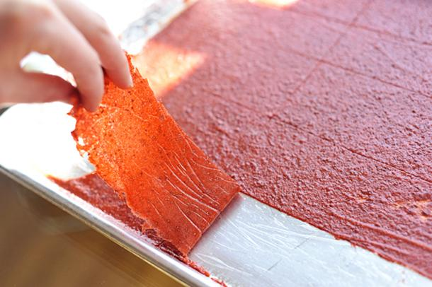 """""""Homemade Fruit Leather"""" — The Official Site of Chef Georgia Pellegrini   Food, Travel, Lifestyle, Hunting and Redefining Slow Food"""