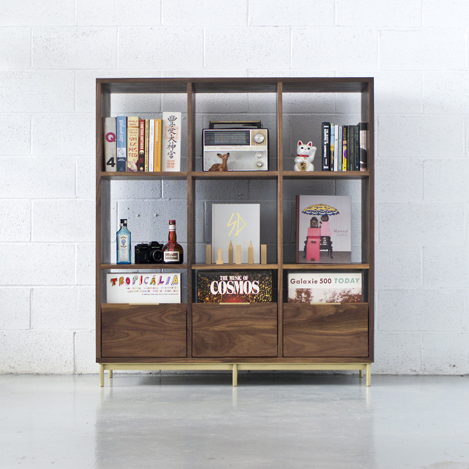 Korgis Record Cabinet/Bookshelf - mitztakahashi.com
