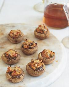 Stuffed Mushrooms - Whole Living Eat Well