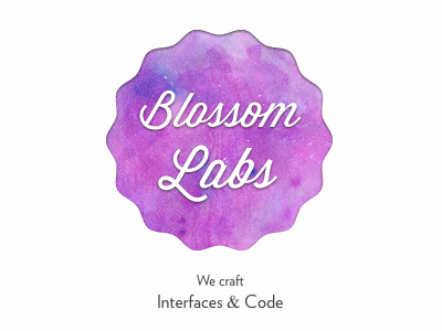 Blossom Labs by Julian