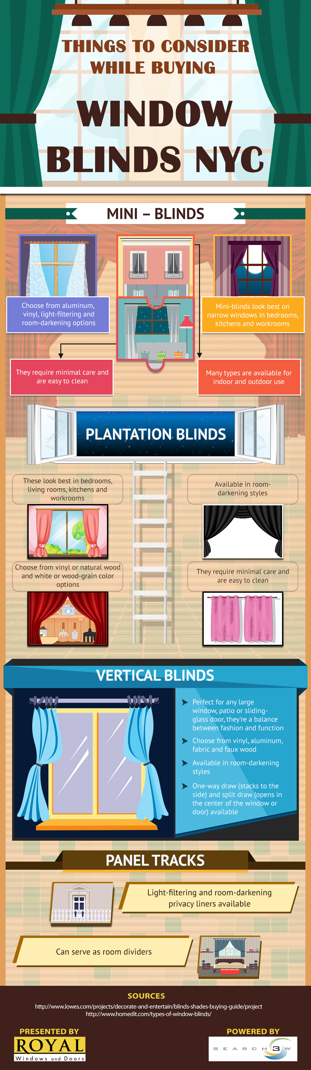 What Are the Most Popular Styles of Window Blinds? - Royal Window Treatments