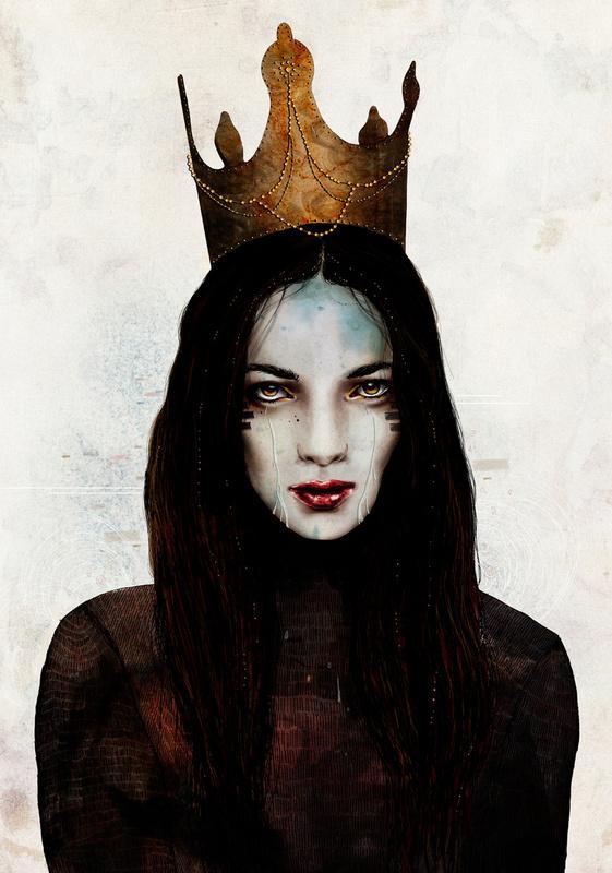 Queen Art Print by Feline Zegers | Society6