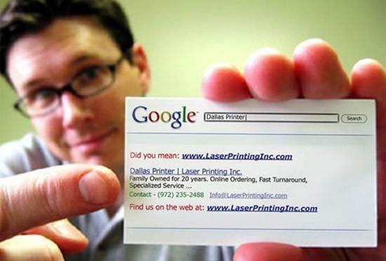 Textual Matters / Funny Business Card