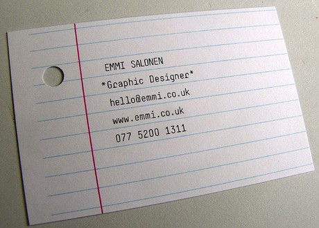 Corporate identity / business card