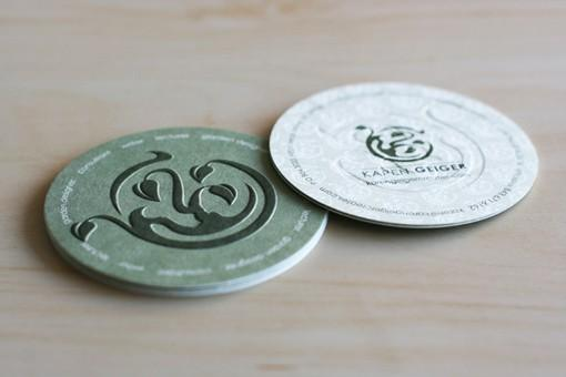 Carded / Circle Business Card