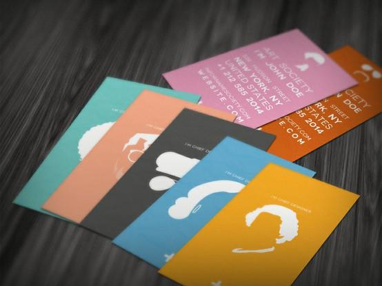 Business cards / minimalist profil