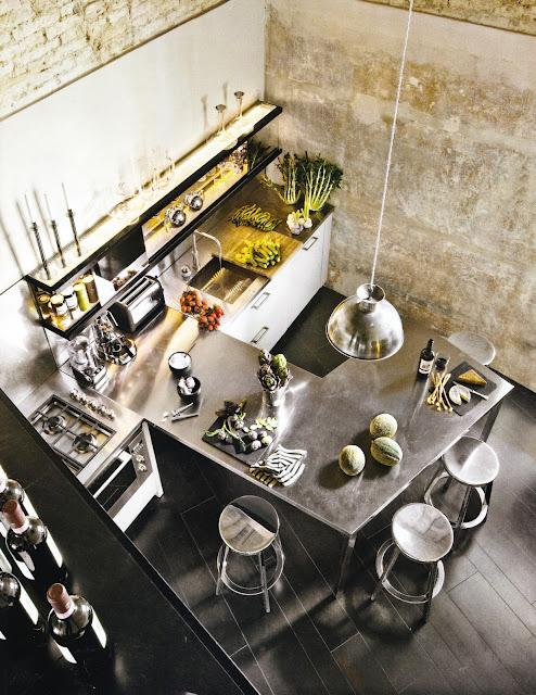 French By Design: A loft in Florence