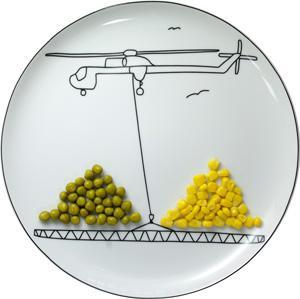Boguslaw Sliwinski . . . Ceramics Plate BS Toy