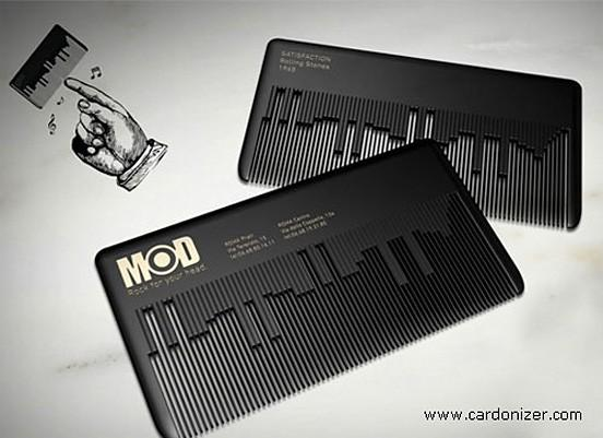 graphic / musical business card