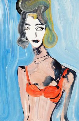 COOL & CHIC STYLE FASHION: 1 fashion designer illustration painter