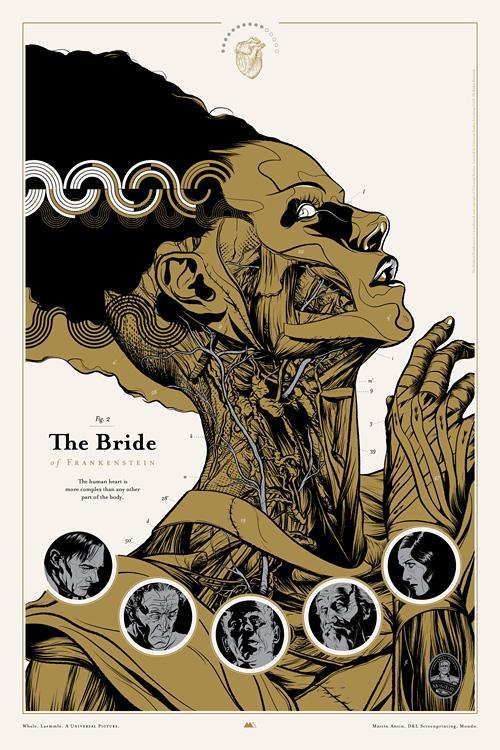 The Bride of Frankenstein : Martin Ansin, Illustrator | Illustration Portfolio