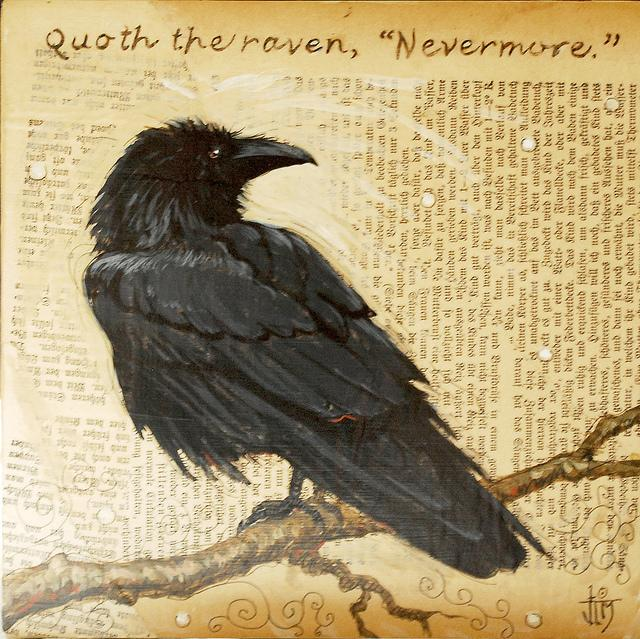 Raven Painting (Texas bound) | Flickr - Photo Sharing!
