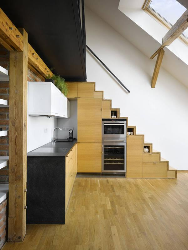 Beautiful Houses: Mini Loft in Prague | Abduzeedo | Graphic Design Inspiration and Photoshop Tutorials