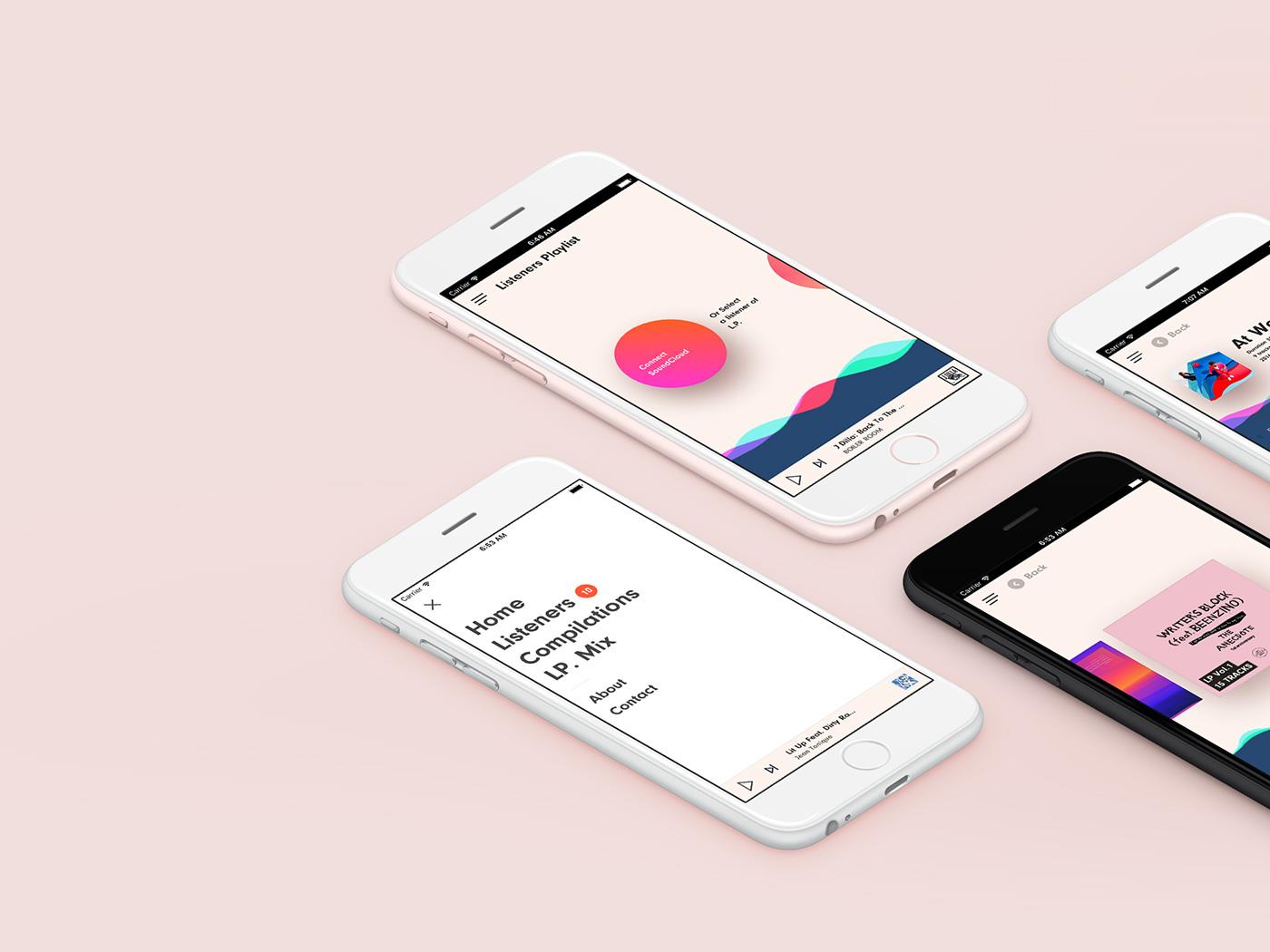 Product Design: Listener's Playlist | Abduzeedo