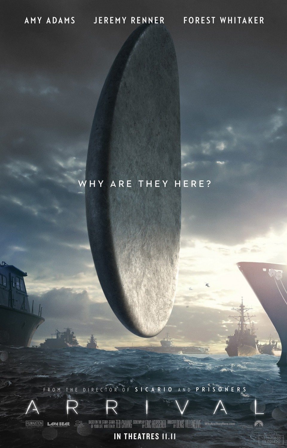 Arrival (#11 of 20): Extra Large Movie Poster Image - IMP Awards
