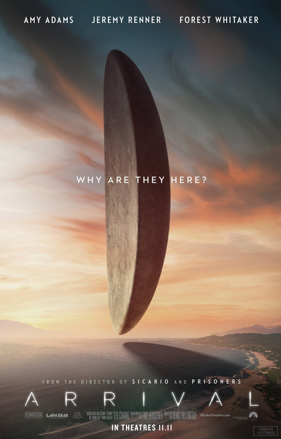 Arrival (#6 of 20): Extra Large Movie Poster Image - IMP Awards