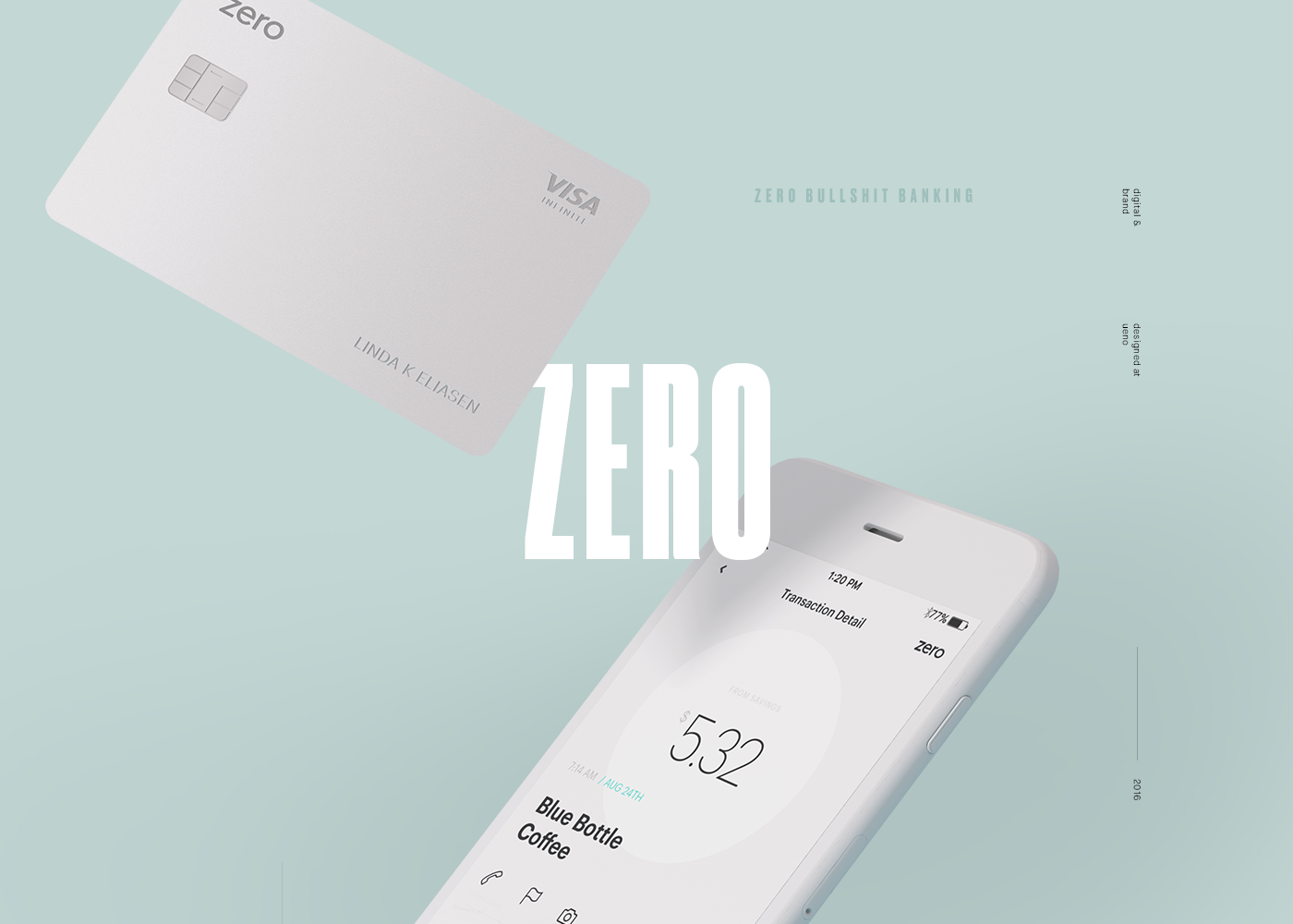 Zero Branding and Website on