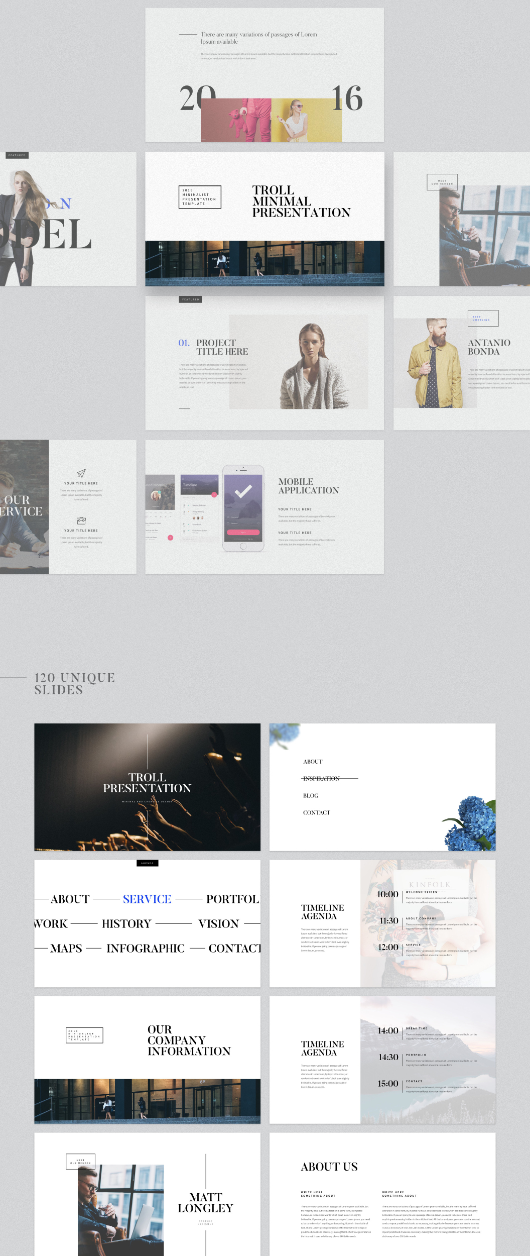UI8 — Products — Troll Presentation Template