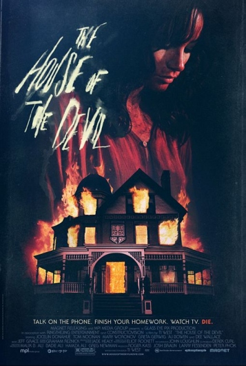 Designspiration — The House of the Devil Poster - Internet Movie Poster Awards Gallery