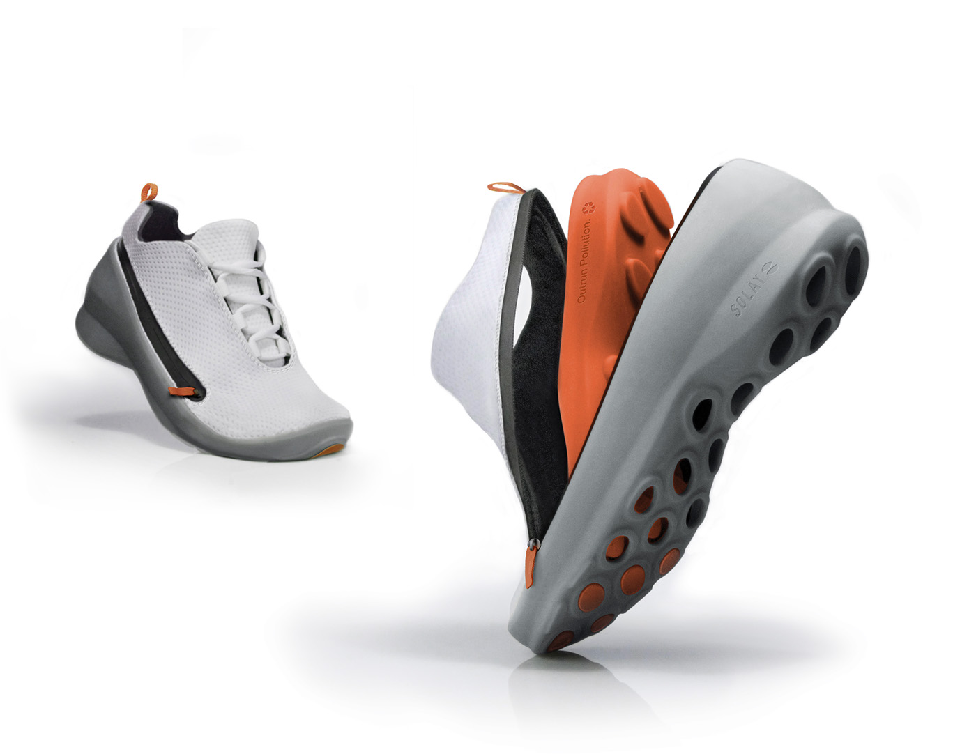 Concept - Sustainable Running Shoe on