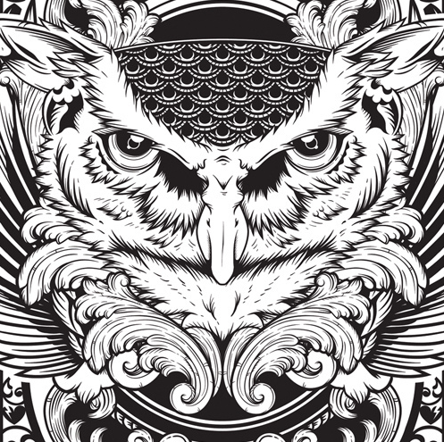 ABDZ Sticker Contest: The Submissions (Updated) | Abduzeedo | Graphic Design Inspiration and Photoshop Tutorials