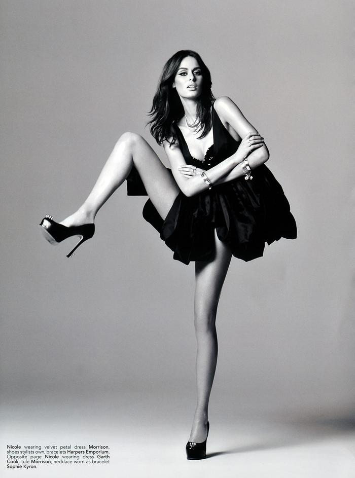 Nicole Trunfio photographed by Russell James for Kurv Magazine #24, Fall 2011 at FASHIONOGRAPHY