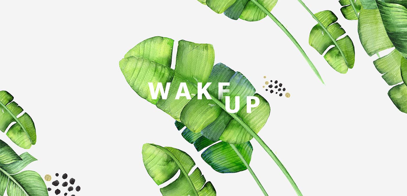 Wake up on