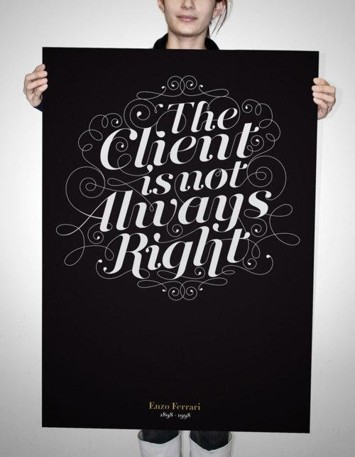 Typeverything.com Le client n'a pas toujours raison ... - Typeverything