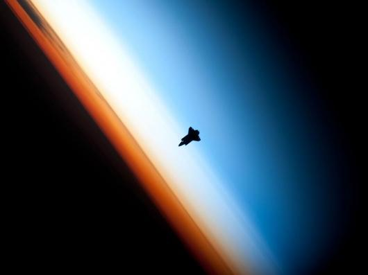 Designspiration — NASA - Shuttle Silhouette