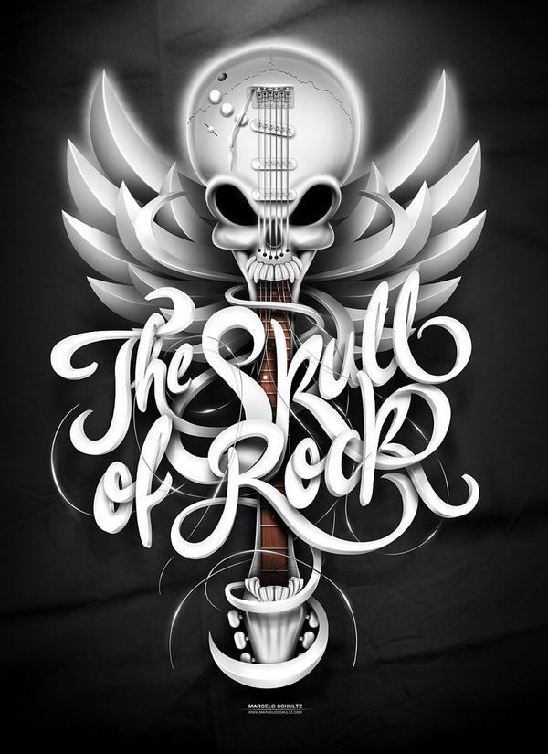 Le crâne de Rock! sur le réseau