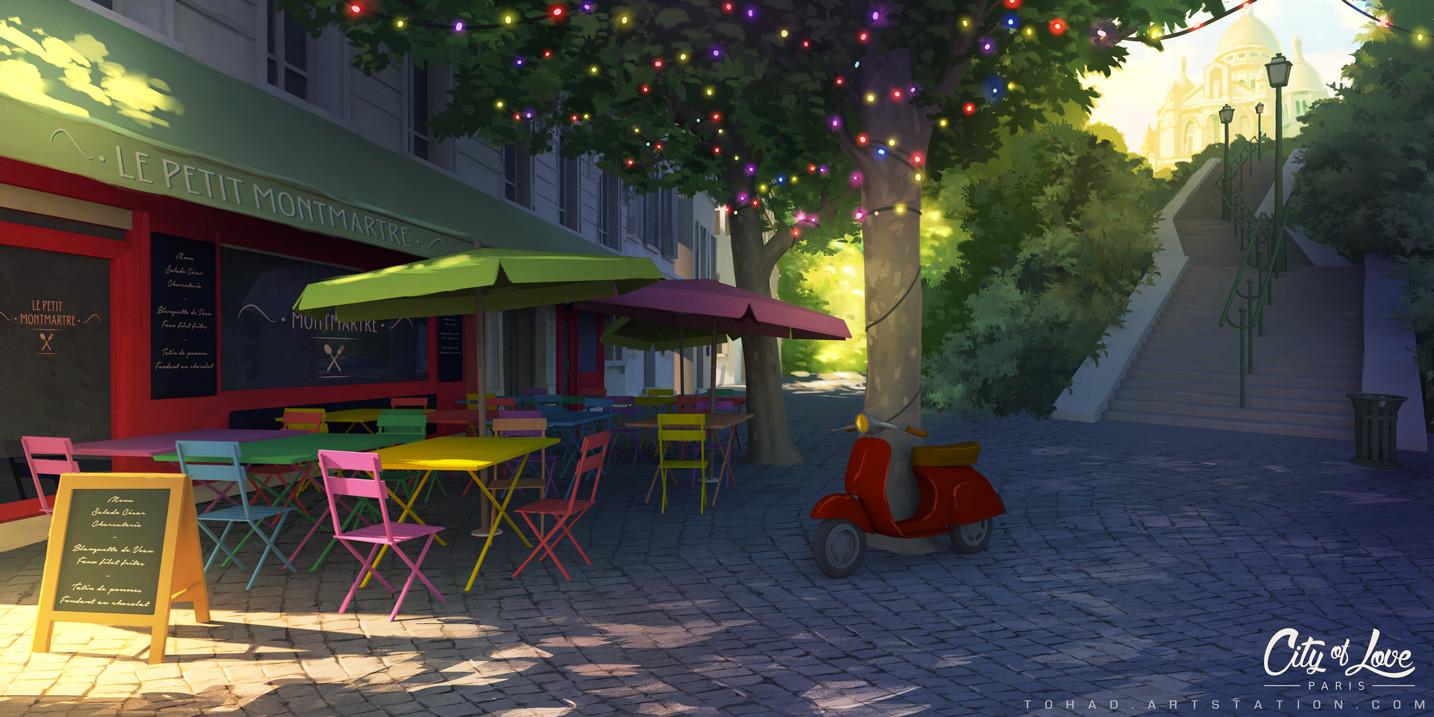 ArtStation - Montmartre, Sylvain Sarrailh