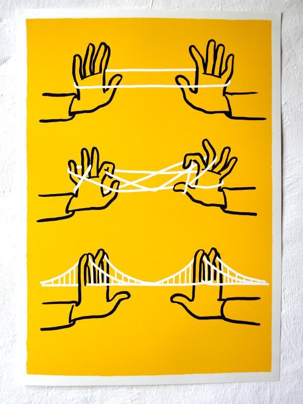 Christoph Niemann / news / Silkscreen Poster