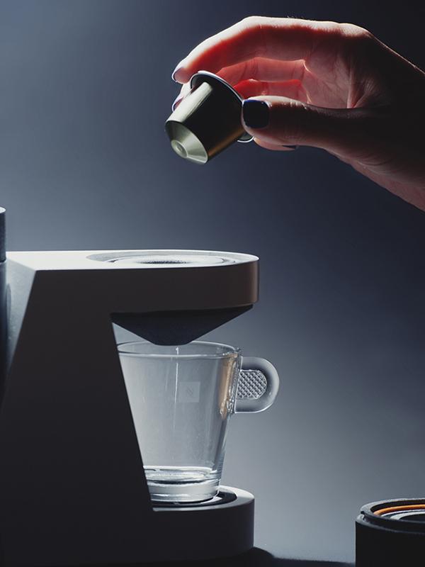 No Frills Nespresso | Yanko Design