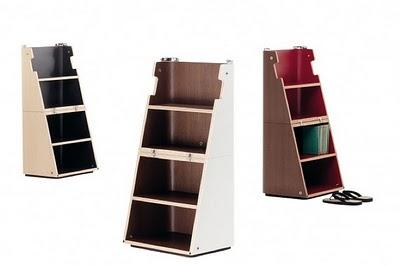 Cerruti Baleri Scalo Modern Stool & Step Ladder Modern Design