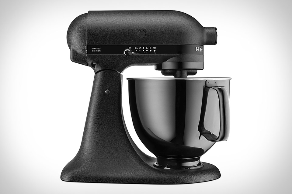 KitchenAid Artisan Black Tie Mixer | Uncrate