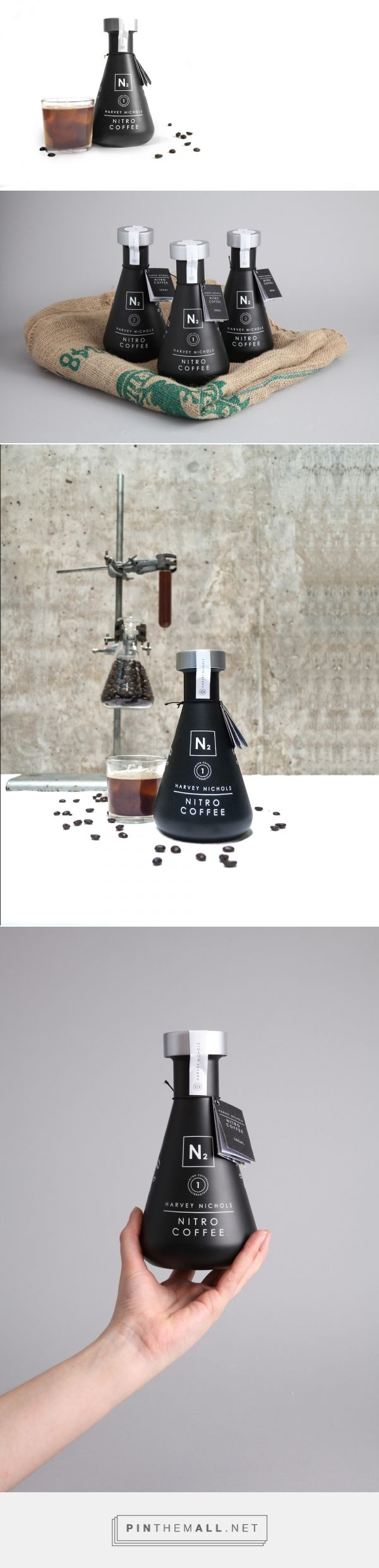 Nitro Coffee Packaging by Jon Cooper