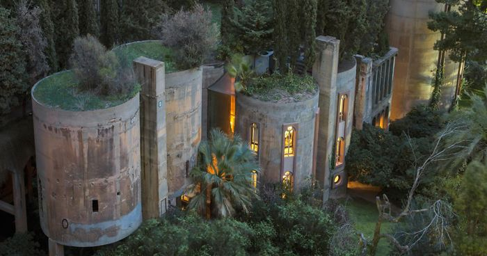 Architect Turns Old Cement Factory Into His Home, And The Interior Will Take Your Breath Away   Bored Panda