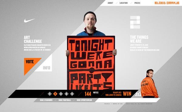 Nike - Bloed Oranje