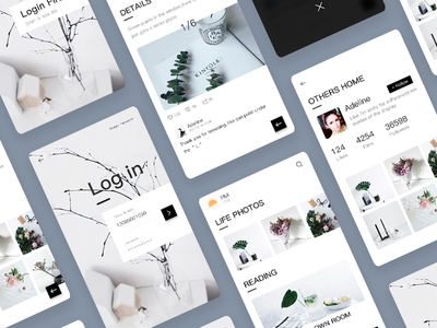 Photo Sharing APP Design by Gray - Dribbble