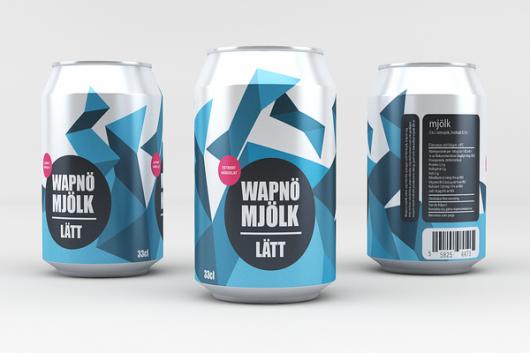 WANKEN - The Blog of Shelby White » Wapnö Aluminum Milk Can Concept