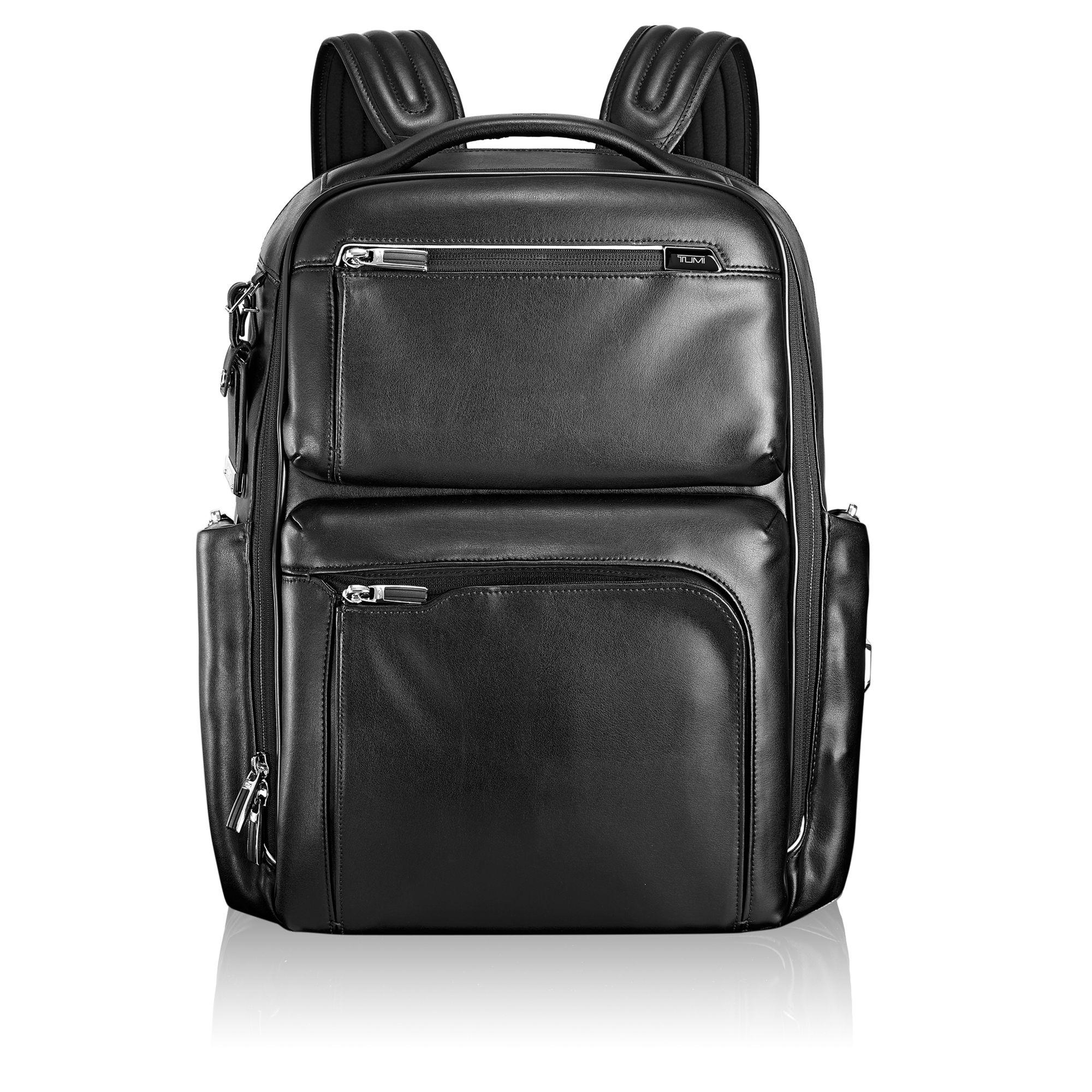 Bradley Leather Backpack - Arrivé   Tumi US