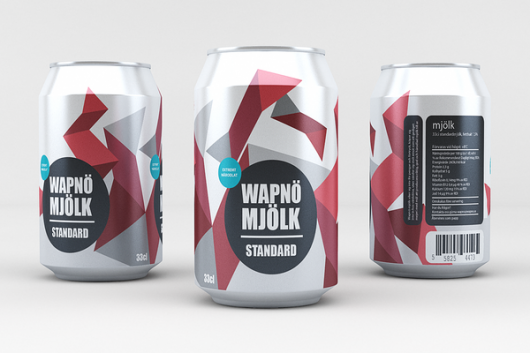 WANKEN - The Blog of Shelby White » Wapnö Aluminum Milk Can Concept
