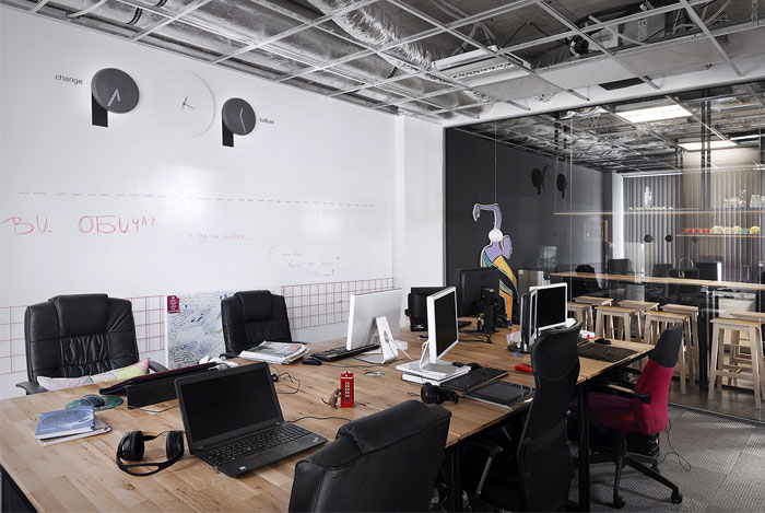 advertising agency office design. Advertising Agency Office By Cache Atelier - InteriorZine Design O