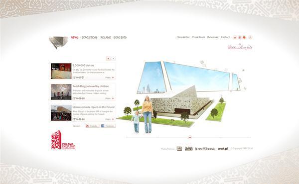 Pologne - EXPO 2010 Shanghai sur le réseau