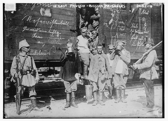 In east prussia--Russian prisoners (LOC) | Flickr - Photo Sharing!