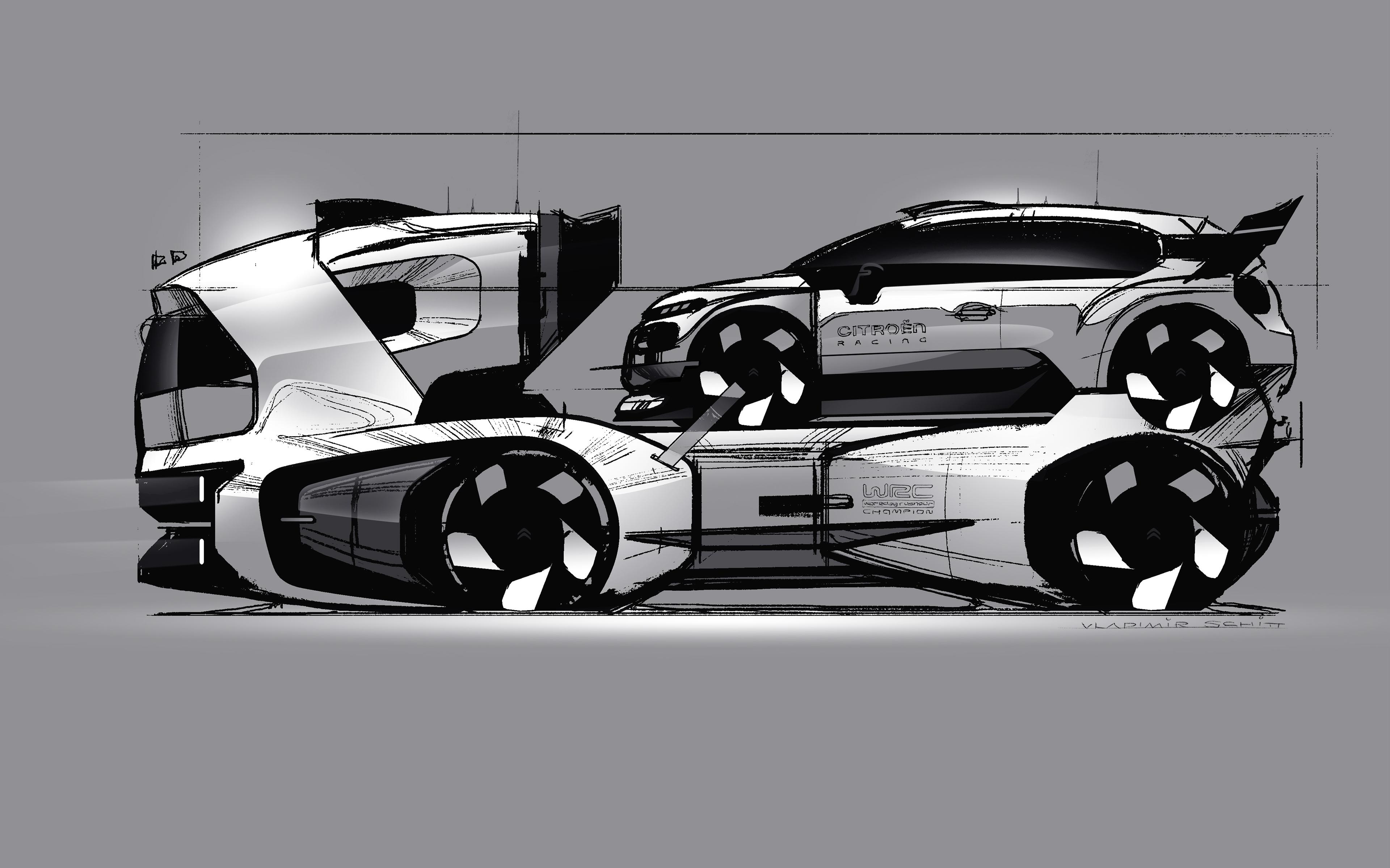 Citroen C3 WRC Concept 2017 on