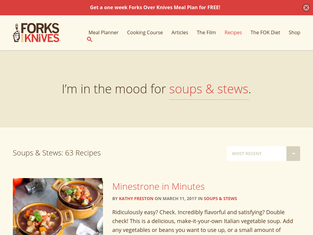 Forks over Knives – Buckets