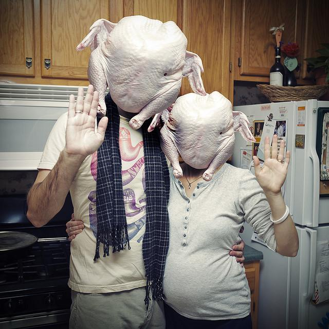 Happy Thanksgiving (from a bunch of turkeys) | Flickr - Photo Sharing!
